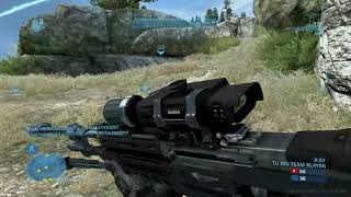 Halo: Reach PC Invincible gameplay in BTB!