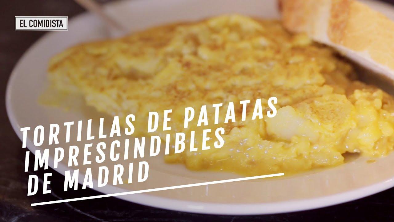 EL COMIDISTA | Tortillas de patatas imprescindibles de Madrid