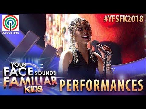 Your Face Sounds Familiar Kids 2018: Sheena Belarmino as Whitney Houston   I Have Nothing
