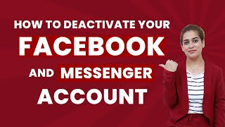 How to deactivate your Facebook and Messenger Account | Deactivate Messenger