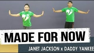 MADE FOR NOW - Janet Jackson Ft Daddy Yankee | Jingky Moves | Zumba® | Dance Fitness