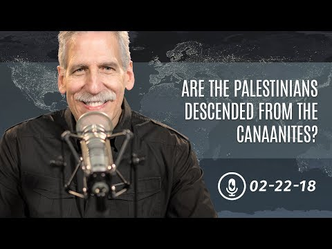 Are the Palestinians Descended from the Canaanites?