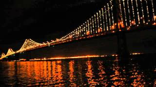 The Bay Lights Project shines over the San Francisco Bay
