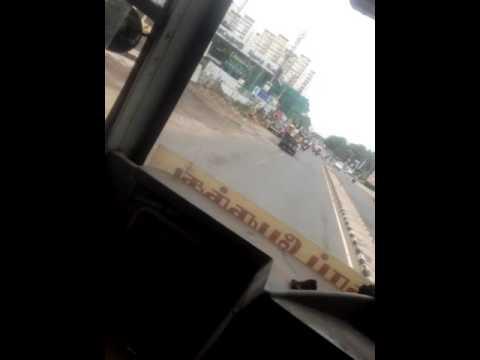 Dangerous travel n chennai south india