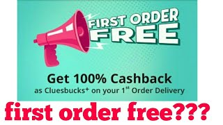 Shopclues shopping app || first order 100% free or not???