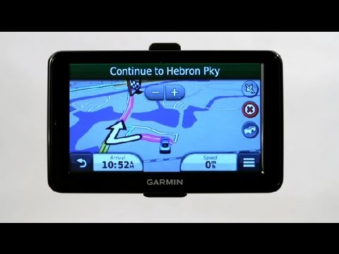 How To Change The Route On A Garmin Nuvi : Garmin GPS
