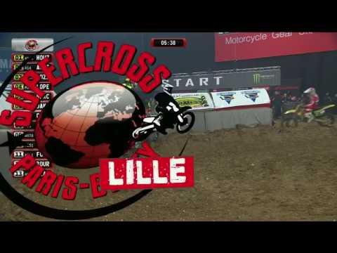 Supercross Paris Lille 2016 1ère journée