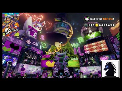 Wii U Splatoon - The Final Splatfest: Callie vs Marie