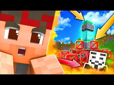 TNT NUCLEARE LEGGENDARIA PER TROLLARE L'HACKER!!! | TROLL AL HACKER - Minecraft ITA