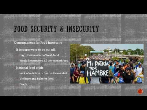 Food Security in Puerto Rico