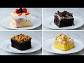 Easy Poke Cake 4 Ways