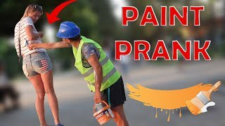PAINT PRANK - Best of Just For Laughs - AWESOME REACTIONS