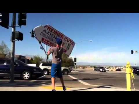 My Sign Spinning Job!!!
