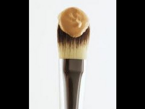 How to clean your foundation brush