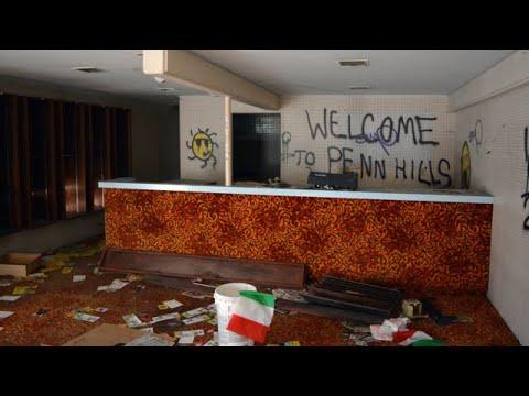 EXPLORING ABANDONED RESORT - Penn Hills Resort(2018)(MURDERER ERIC FREIN'S HIDEOUT)
