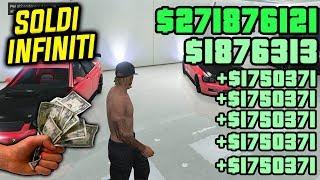 🔥SOLO🔥 GTA 5 Online - SOLDI INFINITI! 1,750,000$ in 30 secondi! (SOLO GLITCH 1.46 GTA 5 Online)