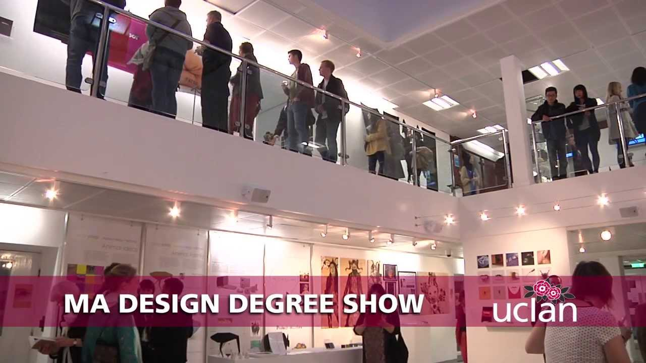 MA Design Degree Show - UCLan & MA Design Degree Show - UCLan - YouTube