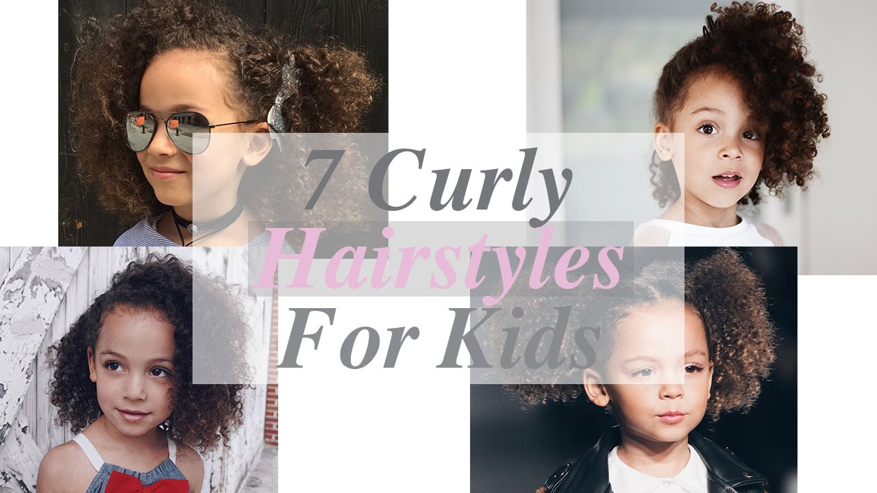 7 Curly Hairstyles For Kids