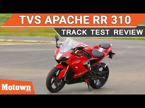 TVS Apache RR 310 | Track Test Review | Exhaust Note | Motown India