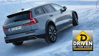 Driven- 2020 Volvo V60 Cross Country in Sweden