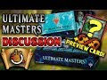 Ultimate Masters Discussion + Preview Card l The Command Zone #243 l Magic: the Gathering EDH