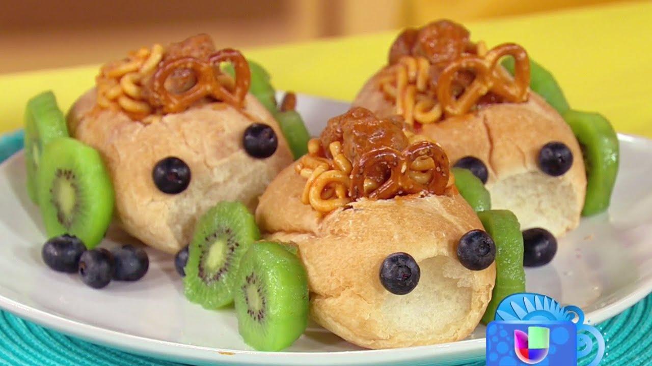 Recetas creativas y f ciles para hacer con tus hijos este for Platos faciles para cocinar