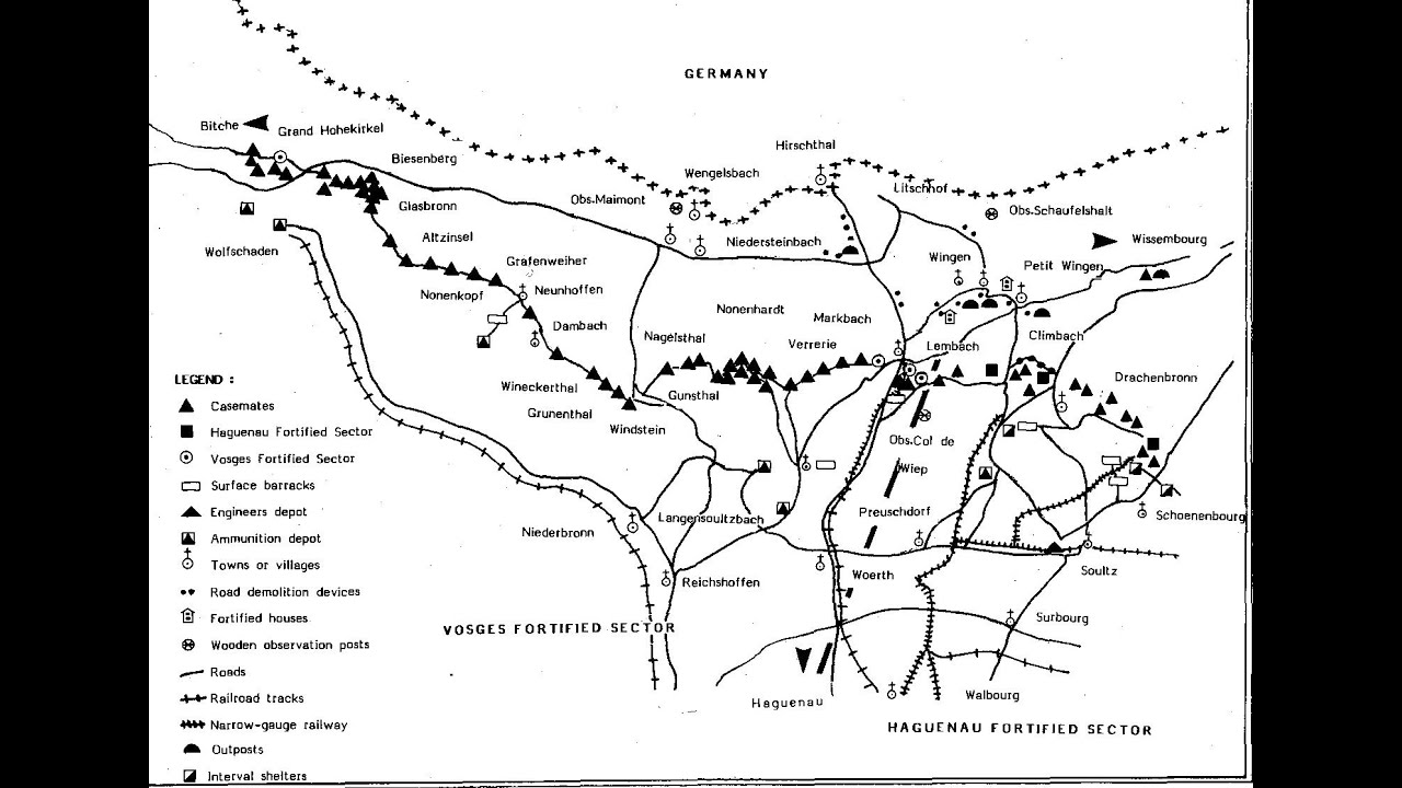 France S Maginot Line Held Back The German Army World War Ii