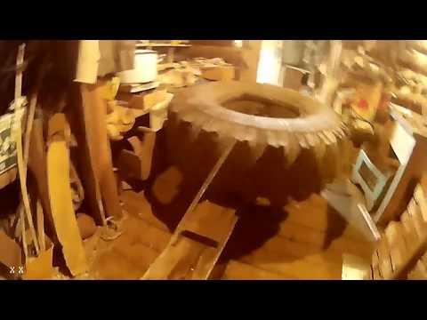Видео как сделать шины низкого давления своими руками