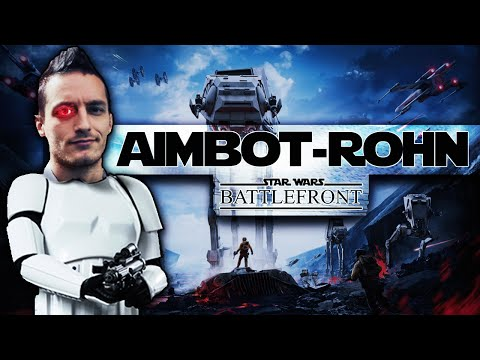 """AIMBOT-ROHN"" - STRAGE su Star Wars: BATTLEFRONT! [20+ Killstreak]"