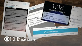 Presidential alert test works for some, not for others