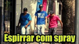 PEGADINHA DO ESPIRRO (Sneeze Spray Prank)