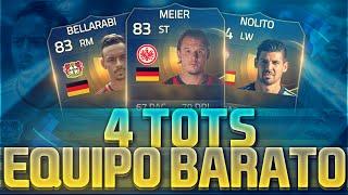 FIFA 15| SQUAD BUILDER | 4 TOTS BARATOS | Hybrid