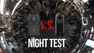Yi 360 VR Camera Low Light / Night Time 5.7K Test w/ Insta360 ONE | 360° Vlog