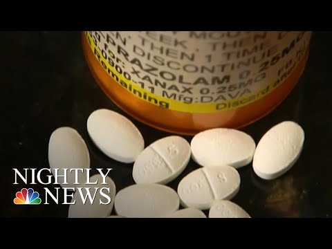 Is Anti-Anxiety Medication The Next U.S. Drug Crisis? | NBC Nightly News