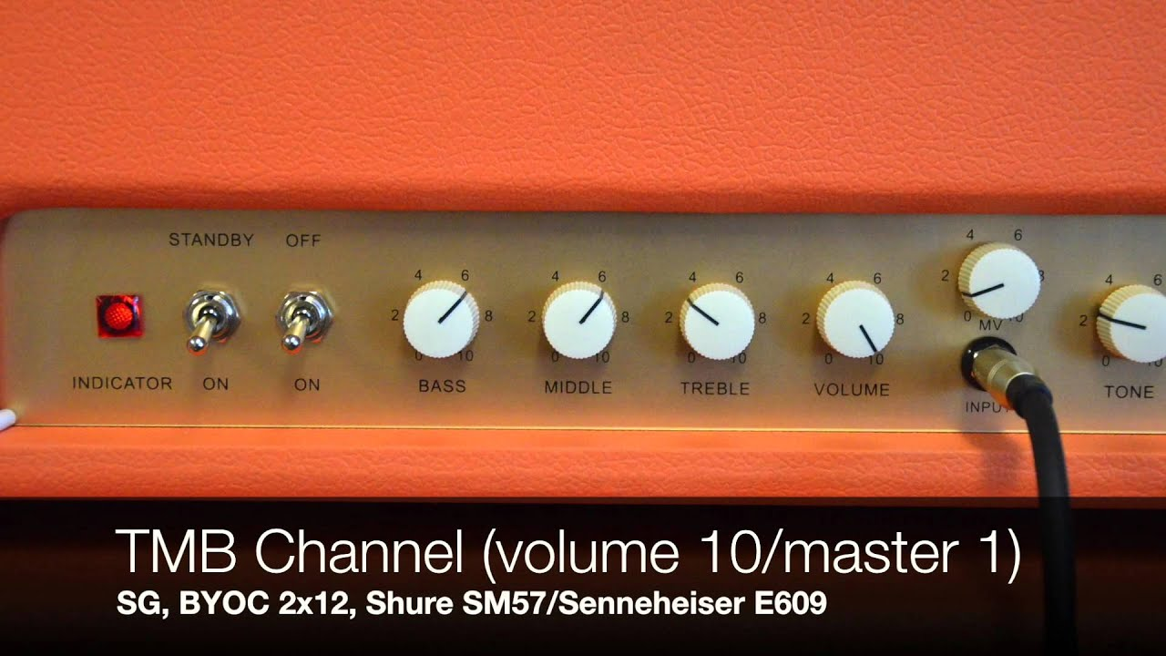 BYOC TMB18 18 watt Marshall Clone Amp Kit