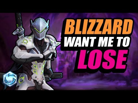 Genji - blizzard don't want me to win :( // Road to Grandmaster // Heroes of the Storm