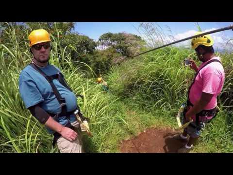 Rainforest Zip Line & Waterfalls Adventure