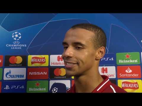 Joel Matip im DAZN Interview nach Liverpool vs Bayern München