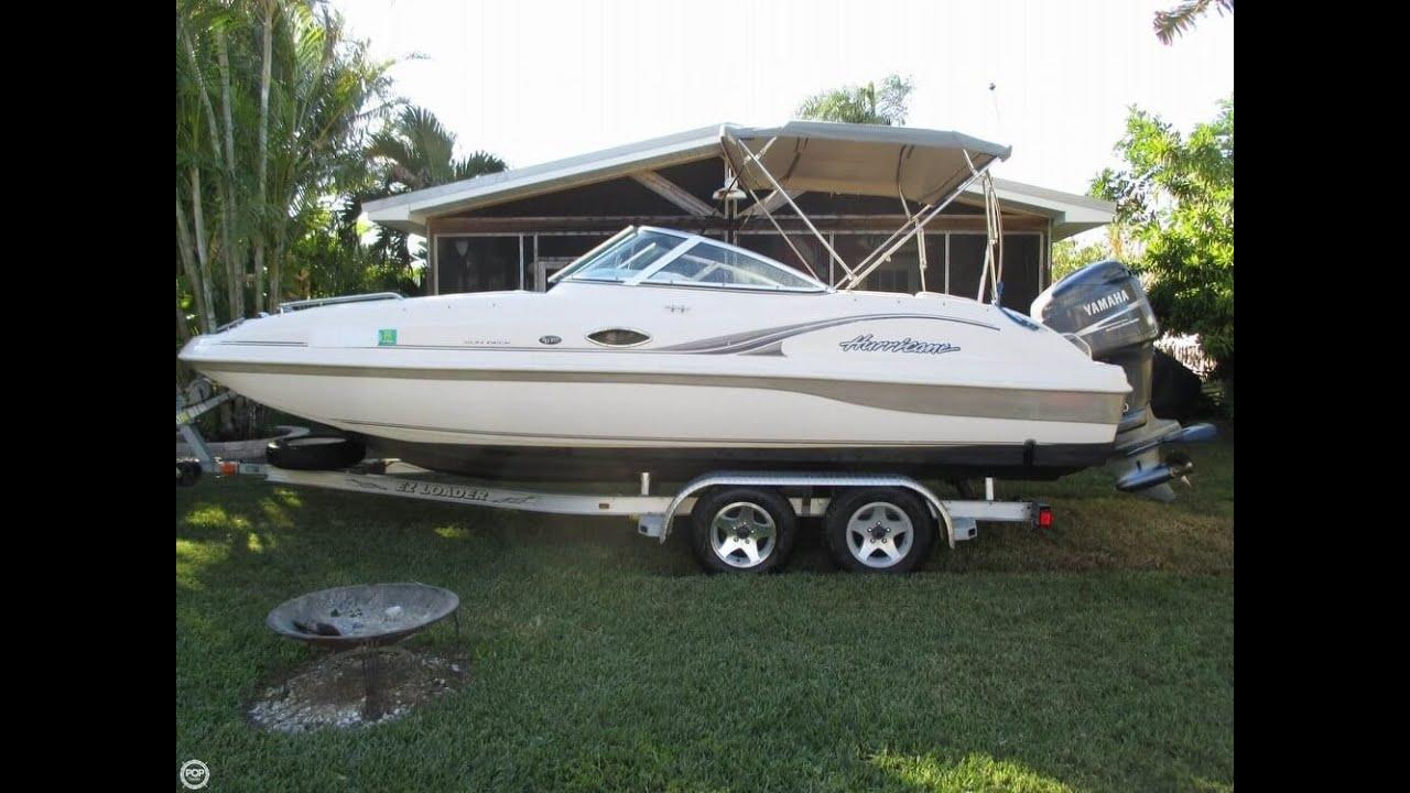 Unavailable Used 2002 Hurricane Sun Deck 217 In Ruskin Florida