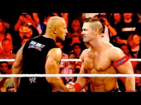 WWE 2012 - The Rock vs John Cena