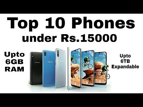Top 10 Mobiles Under Rs.15000 || Upto 6GB RAM || 5000 MAH Battery || 2019 ||