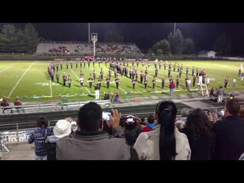 The Elgin High School Marching Maroons 2016 Senior Night Show