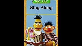 Closing To Sesame Street:Sing-Along 1987 VHS