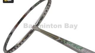 apacs n power 900 black badminton racket