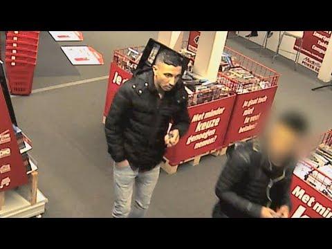 Dief zwaait iPad over detectiepoortjes bij Mediamarkt Rijswijk - TEAM WEST