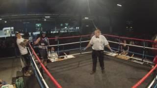 Ultra White Collar Boxing | Aberdeen | Lisa Gibson VS Charlene Anderson