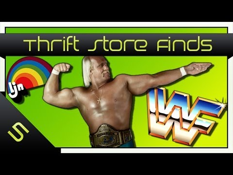 Thrift Store Finds #5: EPIC WWF LJN Find!!!!!