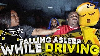 Falling Asleep While Driving Prank On Family !!!