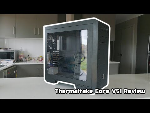 Thermaltake Core V51 ATX Case Review