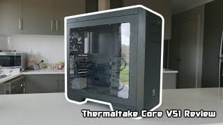 thermaltake core v51 riing edition review